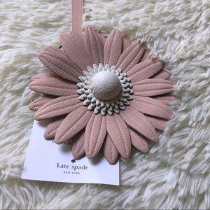 Kate Spade  NWT bag purse tassel pink flower